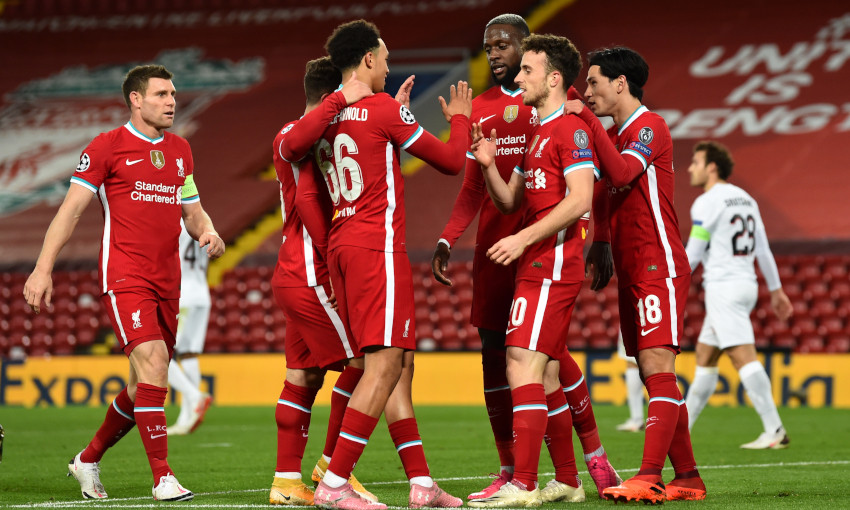 Match report: Jota and Salah strike as Reds see off Midtjylland - Liverpool  FC