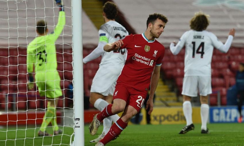 Diogo Jota of Liverpool FC