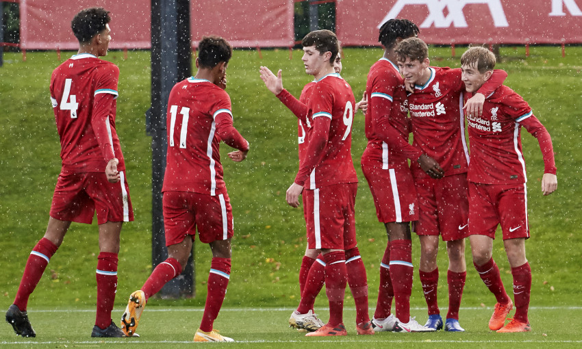 Liverpool U18s v Newcastle United - 31/10/2020