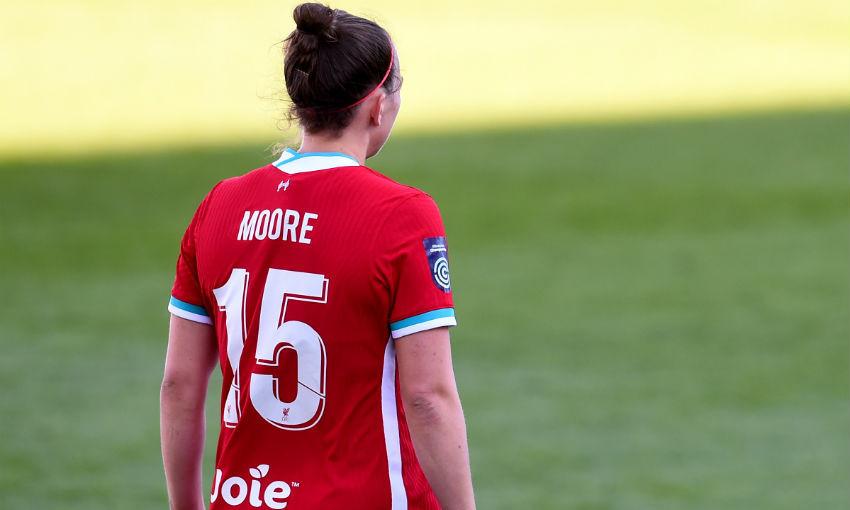 Meikayla Moore of Liverpool FC Women