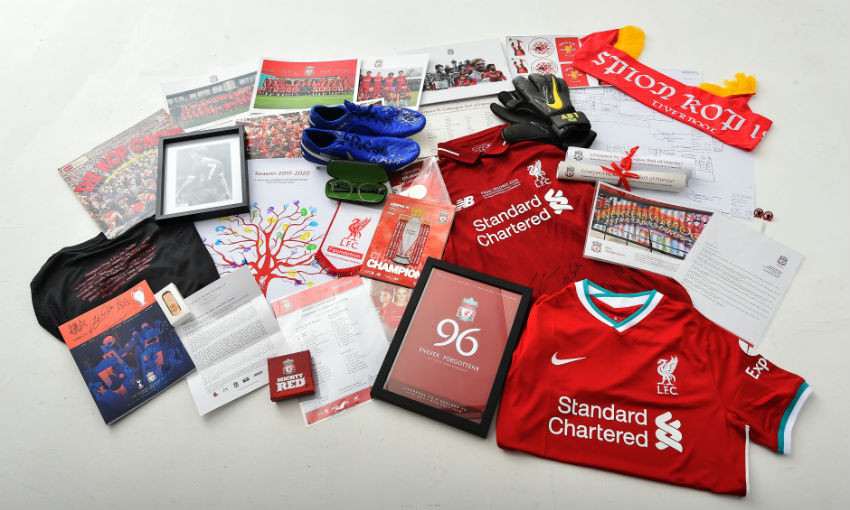 LFC to install time capsule at AXA Training Centre