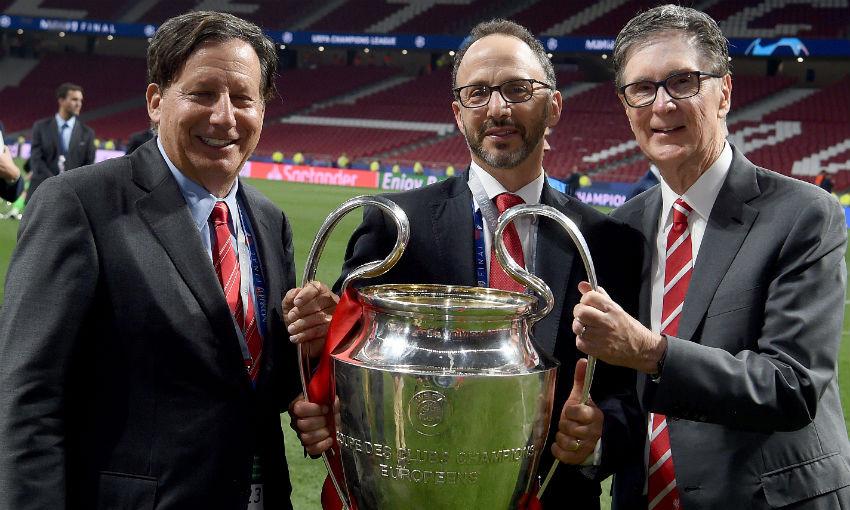 Tom Werner, Mike Gordon and John Henry, Liverpool FC directors