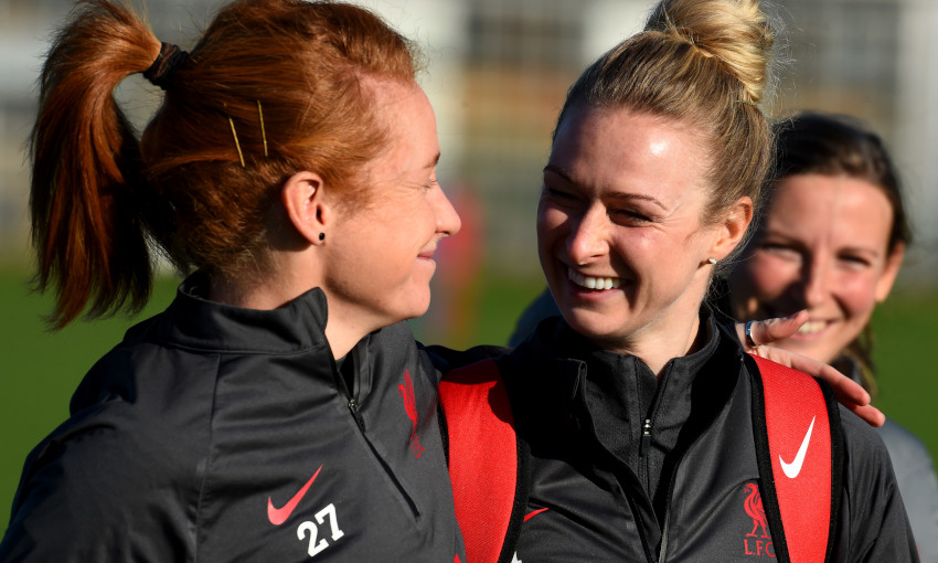 Liverpool FC Women training - 13/11/2020