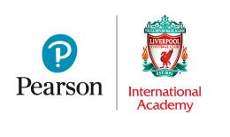 Pearson and LFC Academy logo lockup