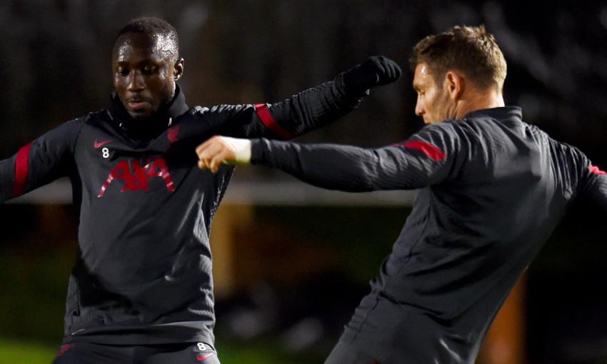Liverpool training - 20/11/2020