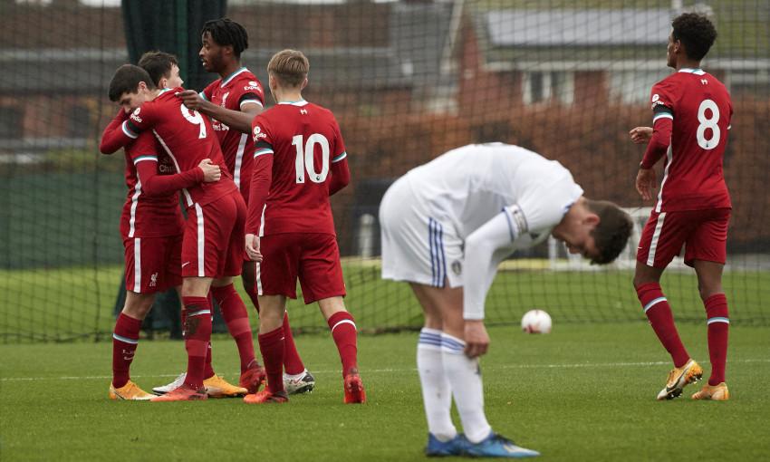 Liverpool U18s v Leeds United, 21/11/2020