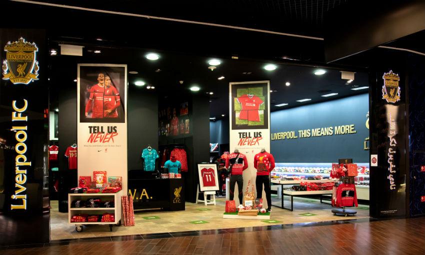 Liverpool FC store, Dubai