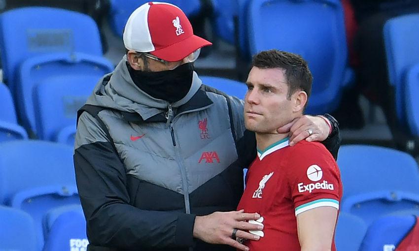 James Milner injury update