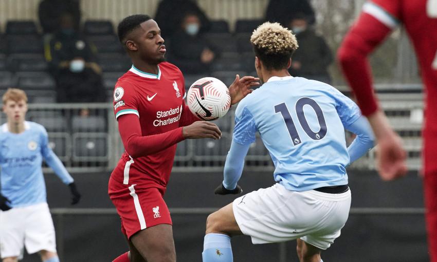 Liverpool U23s v Manchester City - 28/11/2020