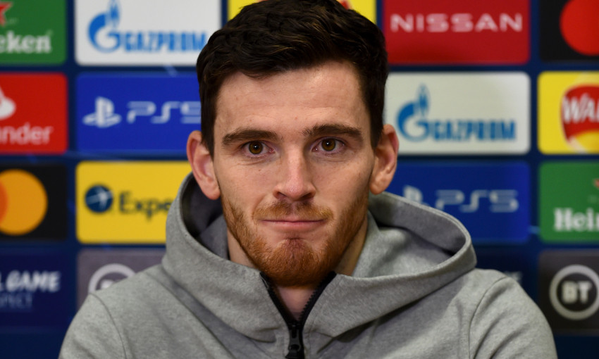 Andy Robertson on last-16 target and facing a European giant - Liverpool FC