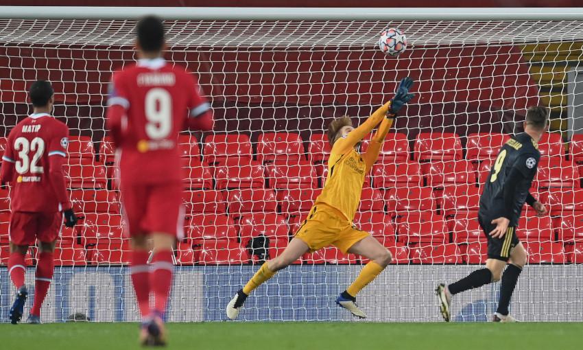 Caoimhin Kelleher, Liverpool v Ajax