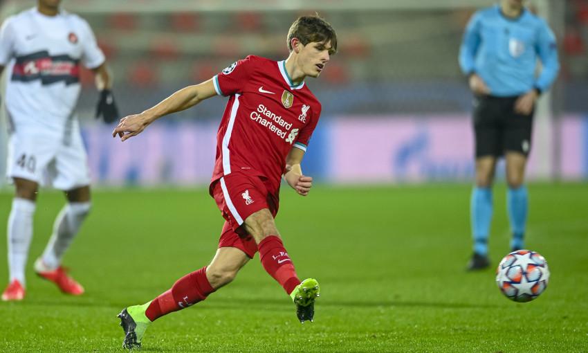Leighton Clarkson in action against FC Midtjylland