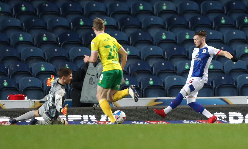 Harvey Elliott scores for Blackburn Rovers