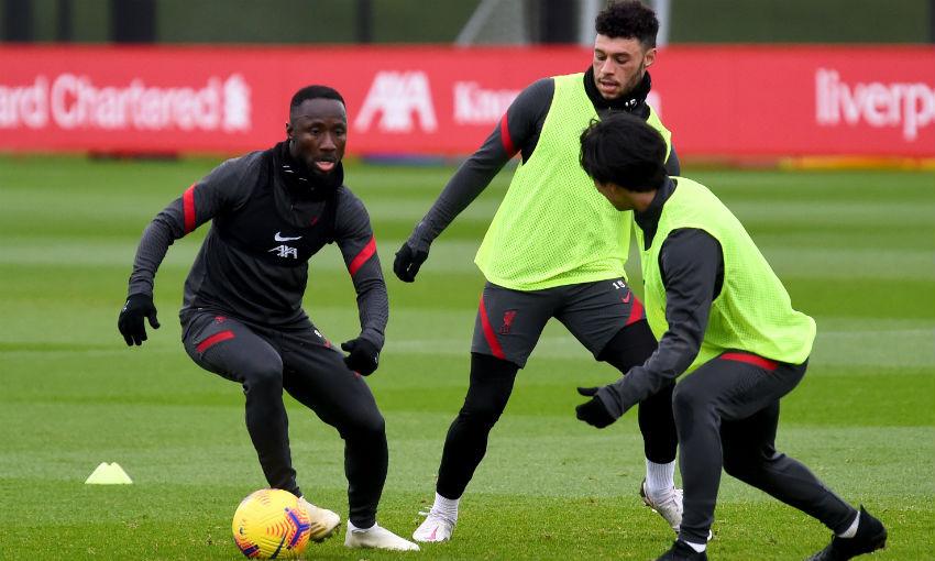 Liverpool FC training session at AXA Training Centre, December 17, 2020