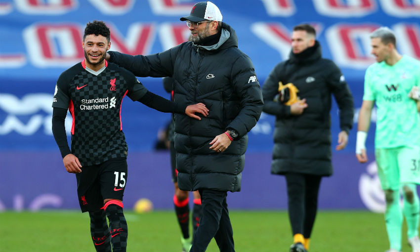 Alex Oxlade-Chamberlain of Liverpool FC
