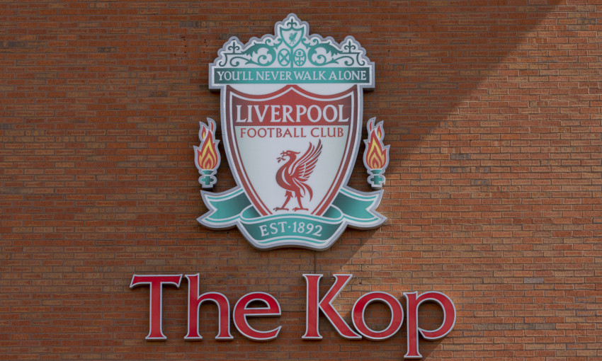 General view of the Kop, Anfield