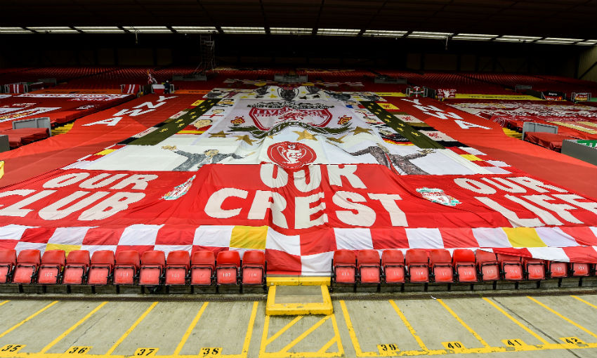 Anfield, the Kop