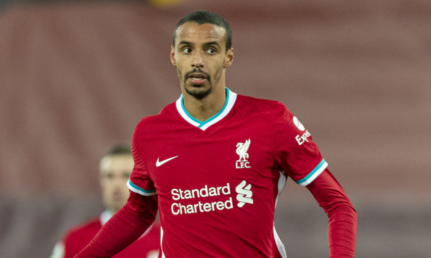 Joel Matip of Liverpool FC