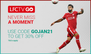 Get 30% off a 12-month LFCTV GO subscription now