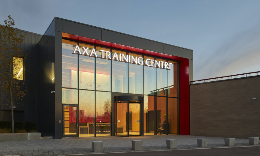 General view of the AXA Training Centre