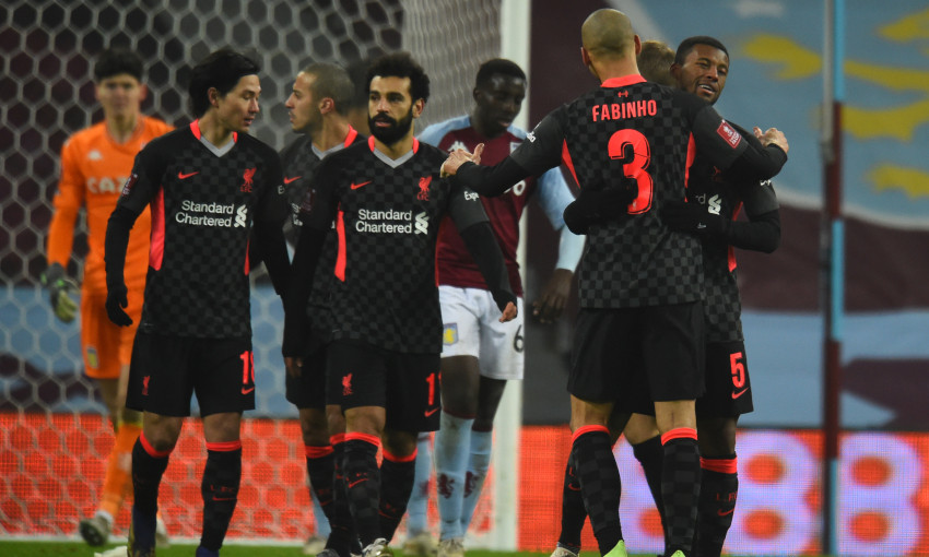 Aston Villa v Liverpool - 8/1/2021