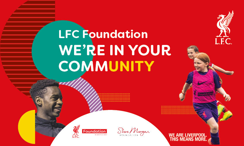 LFC Foundation's new community wellbeing hubs