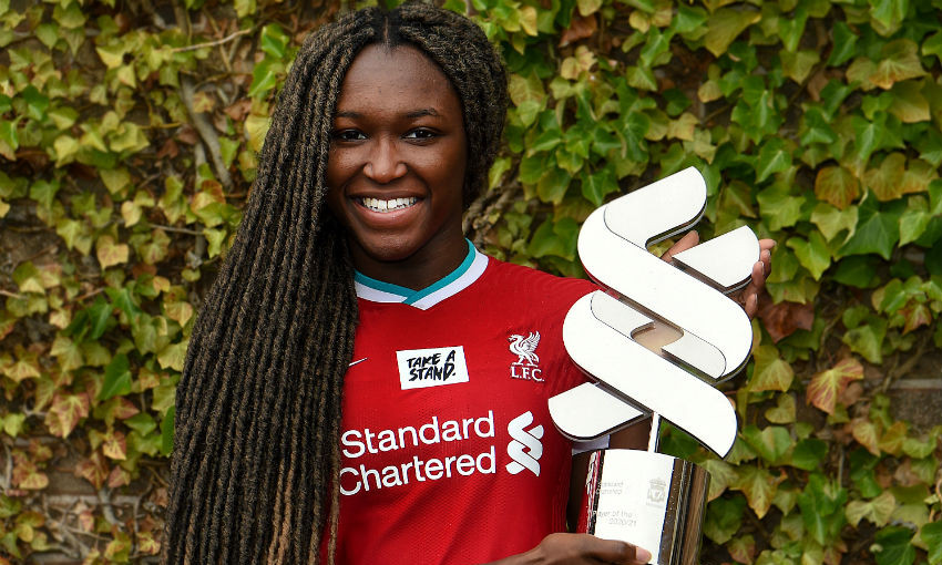 Rinsola Babajide of Liverpool FC