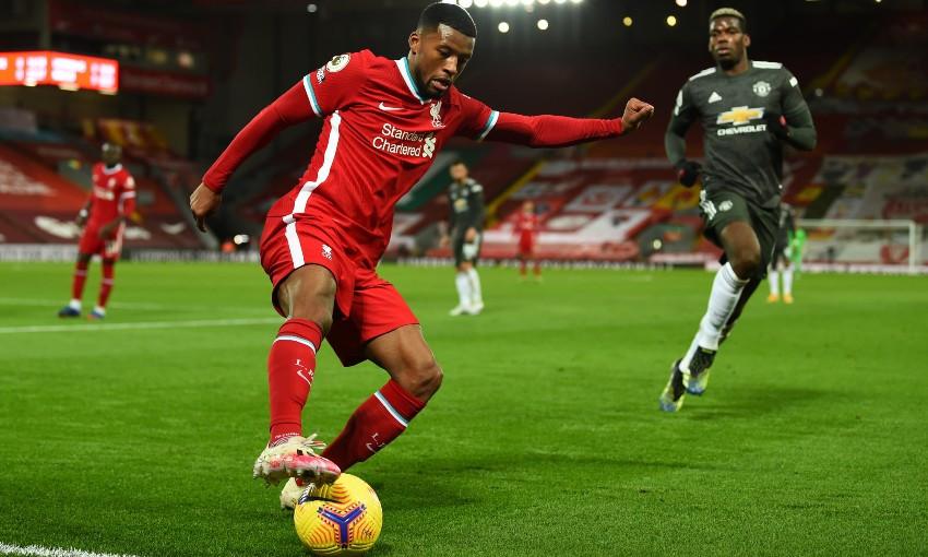 Gini Wijnaldum of Liverpool FC