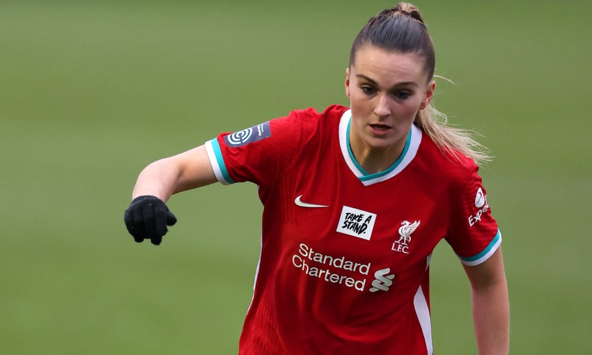Melissa Lawley of Liverpool FC