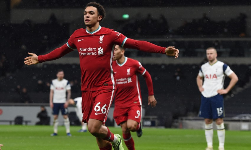 Trent Alexander-Arnold of Liverpool FC