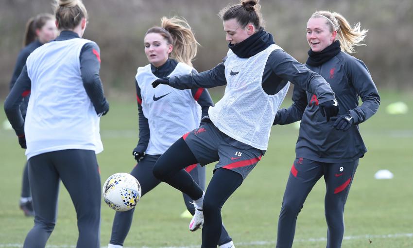 Liverpool FC Women training - 10/2/2021