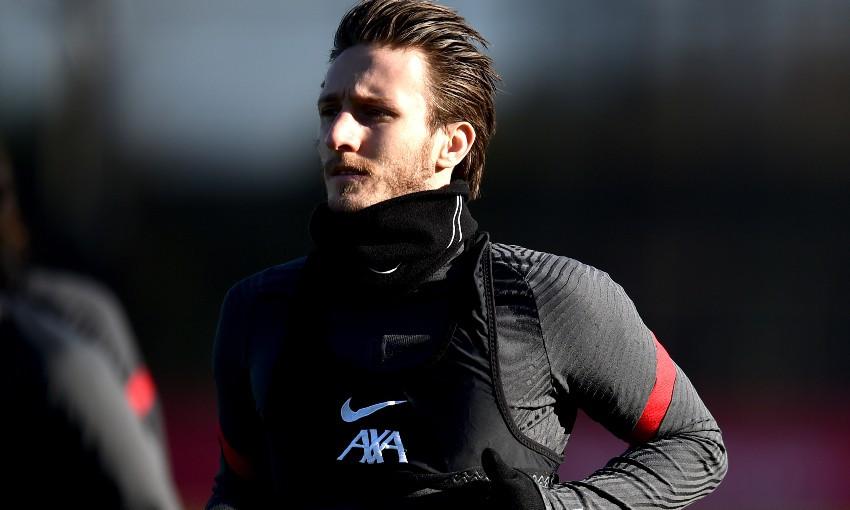 Ben Davies of Liverpool FC