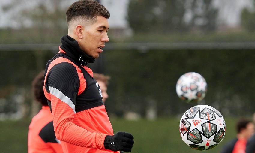 Liverpool FC training session at AXA Training Centre, February 15, 2021