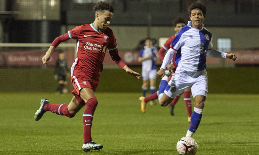 Liverpool U18s v Blackburn Rovers - 16/2/2021