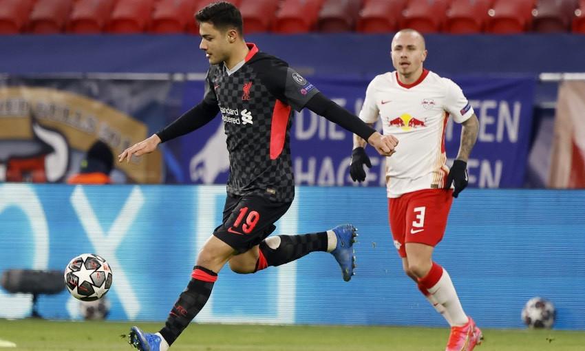 Ozan Kabak of Liverpool FC