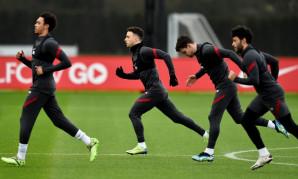 Liverpool FC training session, February 24, 2021