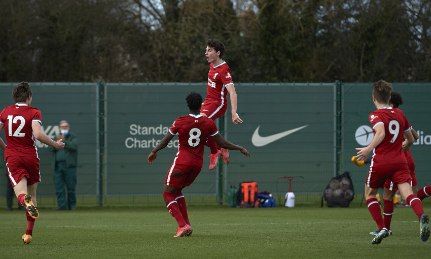 Liverpool U18s v Everton - 27/2/2021