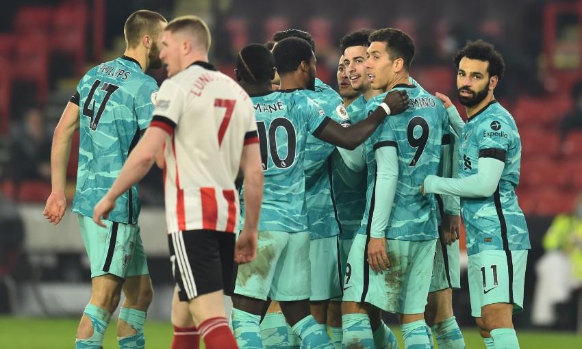 Sheffield United 0-2 Liverpool