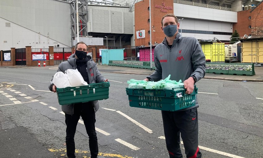 Red Neighbours and Homebaked community response in Anfield, Liverpool