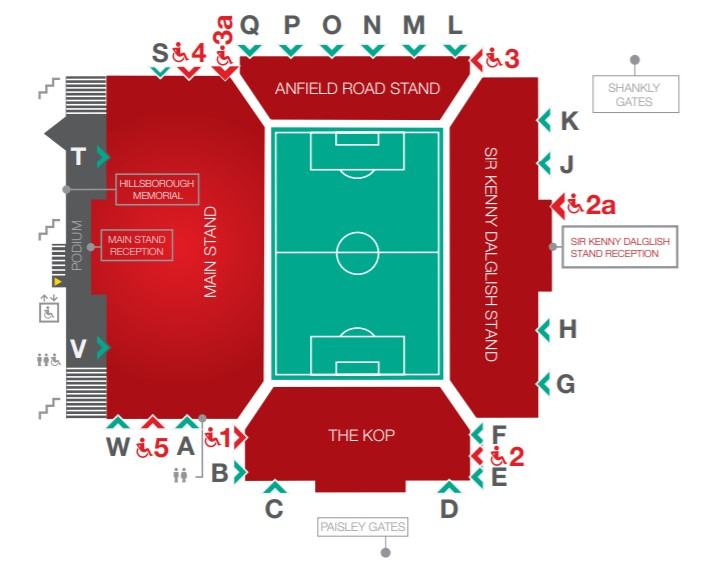 Anfield Accessibility Map
