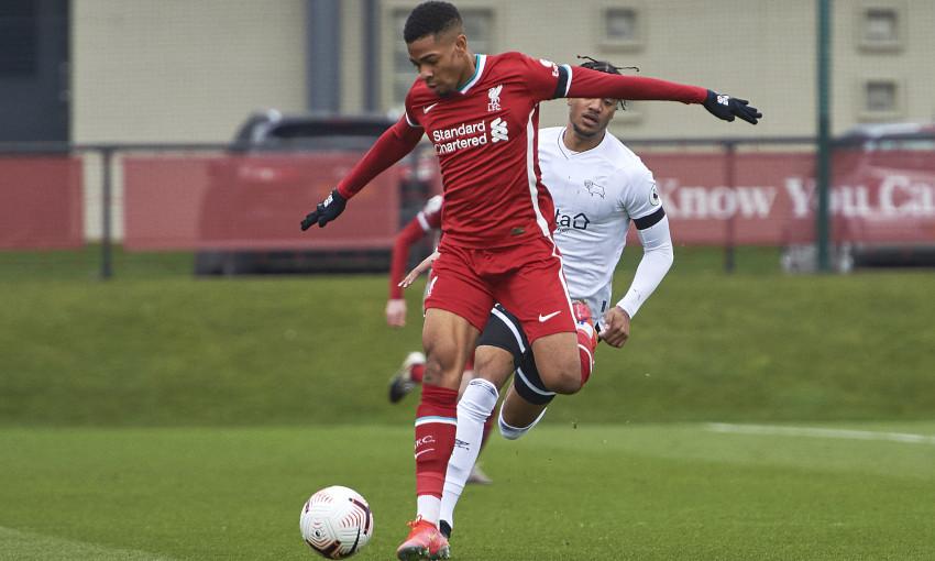 Liverpool U23s v Derby County - 7/3/2021