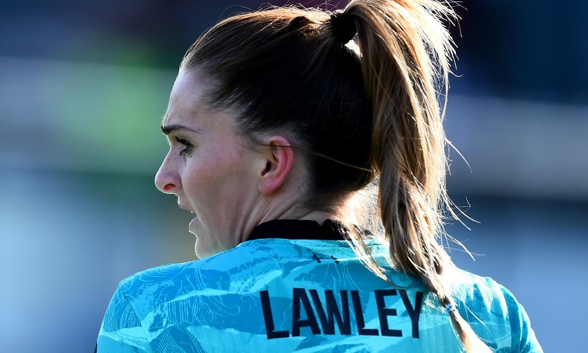 Melissa Lawley of Liverpool FC Women