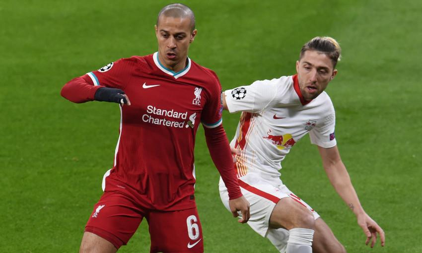 Thiago Alcantara, Liverpool v RB Leipzig - 10/3/2021
