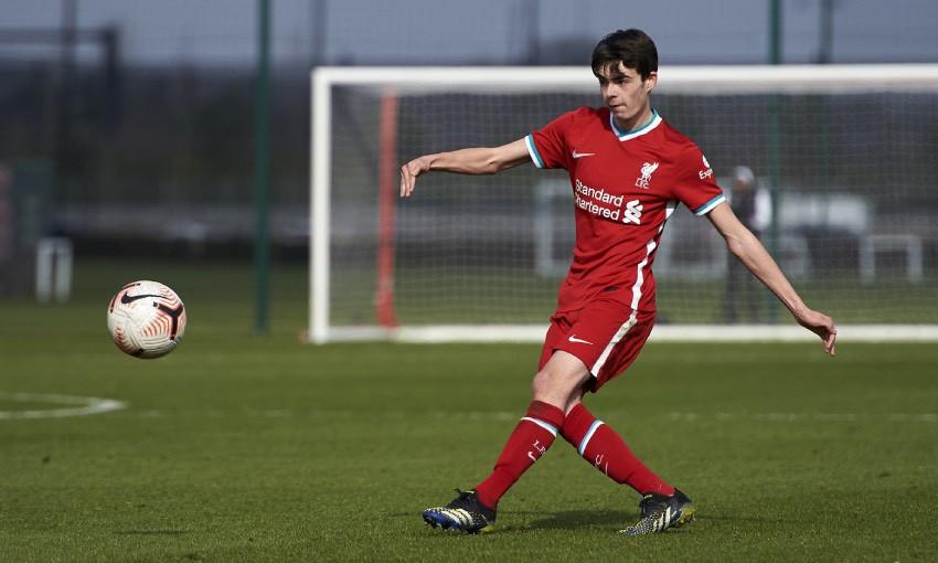 Dominic Corness of Liverpool FC