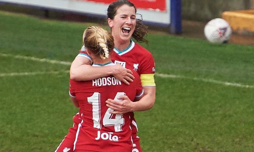 Niamh Fahey of Liverpool FC Women