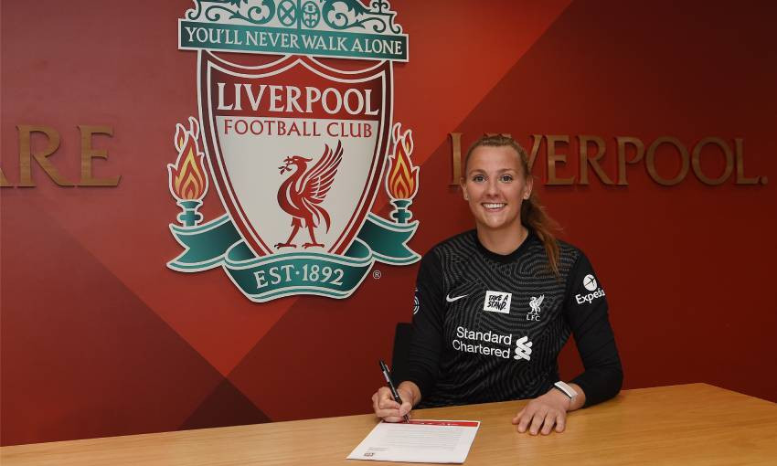 Rylee Foster of Liverpool FC Women