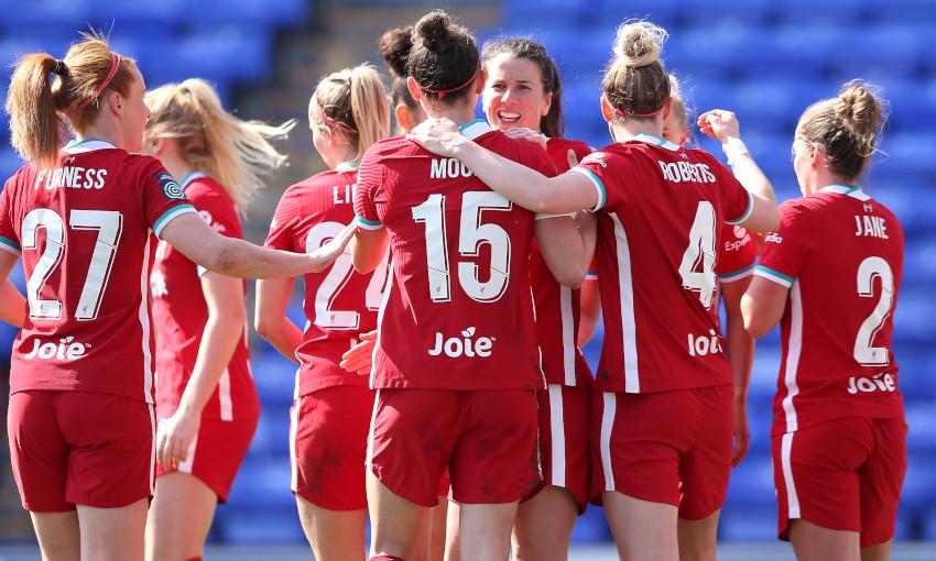 Liverpool FC Women v Lewes FC Women - 4/4/2021