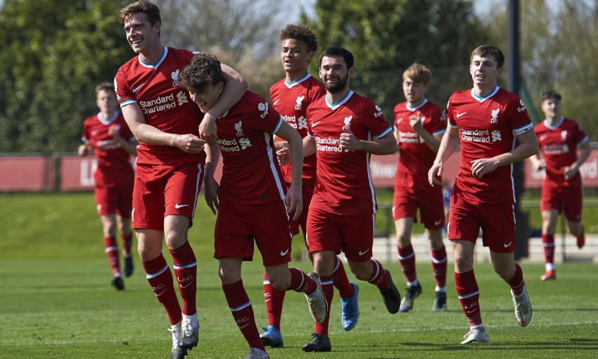 Liverpool U23s v Brighton & Hove Albion - 4/4/2021