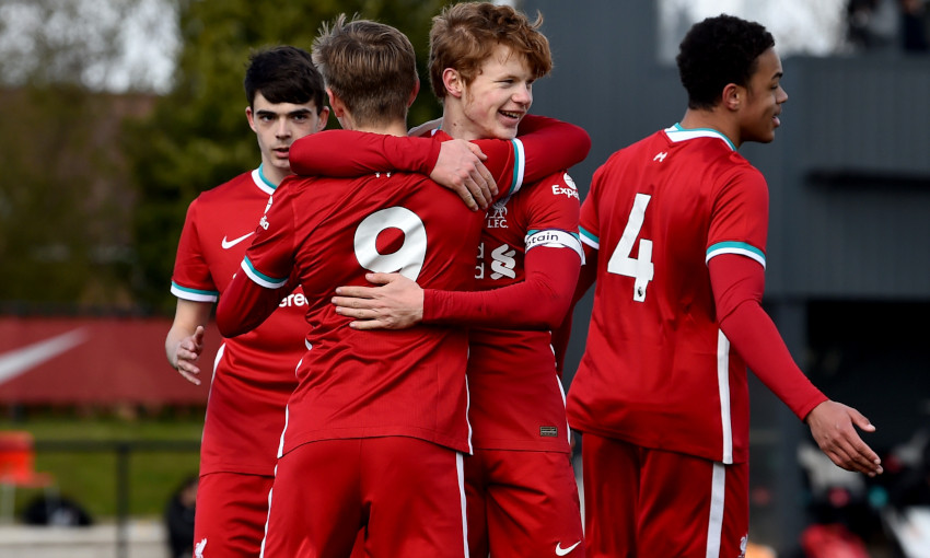 Liverpool U18s v Wolverhampton Wanderers - 6/4/2021