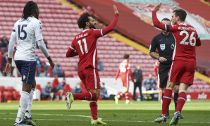 Mohamed Salah: We'll keep fighting for a top-four finish